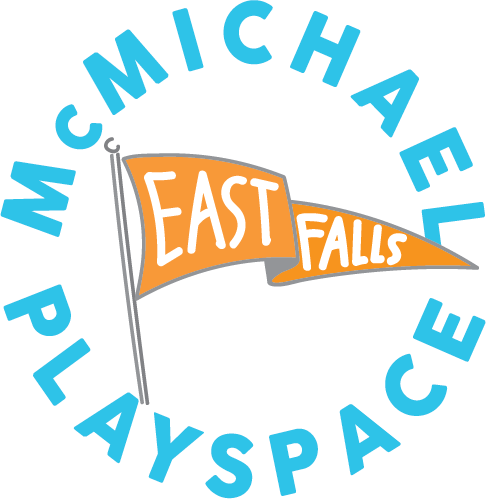 Logo for McMichael PlaySpace in East Falls, Philadelphia
